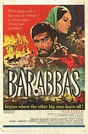 1961 - Barabbas Movie Poster