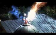 Gonzo getting struck by lightning