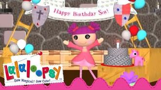 Happy Birthday, Sir Battlescarred! We're Lalaloopsy Now Streaming on Netflix!