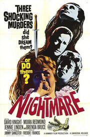 1964 - Nightmare Movie Poster