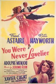 1942 - You Were Never Lovelier Movie Poster