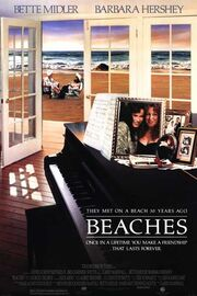 1988 - Beaches Movie Poster