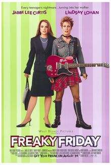 Freaky Friday 2003 Theatrical Poster