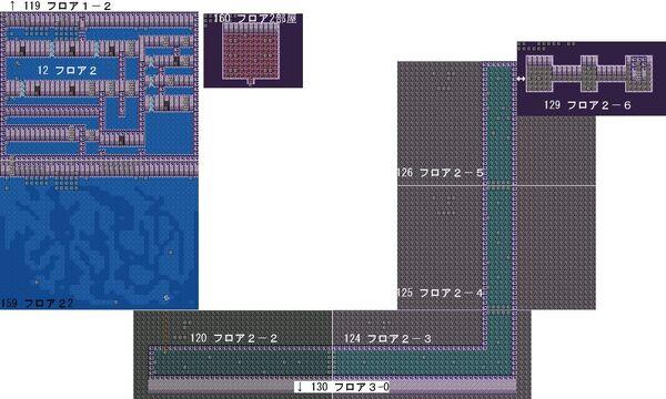 RyonaRPG - Undersea Temple map 2