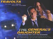 1999 - The General's Daughter Movie Poster 2