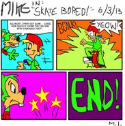 Bancy comics issue 10 mike in skate bored by bancytoongeek1994-d68k0iz