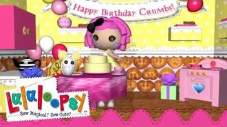 Crumbs Sugar Cookie Birthday We're Lalaloopsy Now Streaming on Netflix!