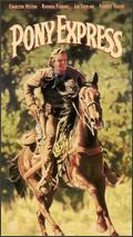 Pony Express 1992 VHS (Front Cover)