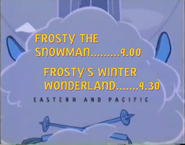 Toon Disney Toons Christmas Coming Up Next Frosty The Snowman To Frosty's Winter Wonderland