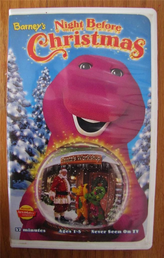 Image - Barney\'s Night Before Christmas VHS.jpeg | Scratchpad ...