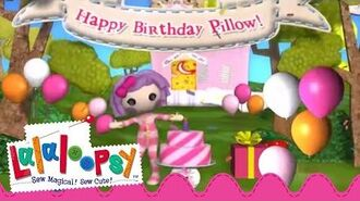 Happy Birthday Pillow Featherbed We're Lalaloopsy Now Streaming on Netflix!