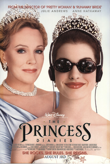 The Princess Diaires (2001) Poster