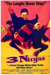 1992 - 3 Ninjas Movie Poster