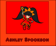5) Ashley (WarioWare. Portfolio Cartoon)