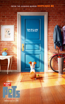 Secret life of pets teaser poster