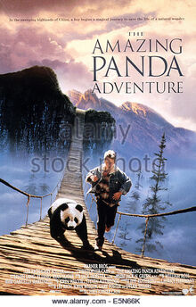 The-amazing-panda-adventure-poster-ryan-slater-1995-warner-bros-courtesy-e5n66k
