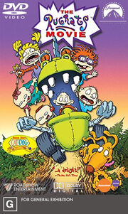 The Rugrats Movie (1998) 2005 Australia DVD Cover (Roadshow Entertainment Print)