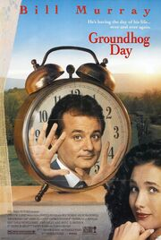 1993 - Groundhog Day Movie Poster