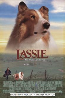 Lassie (1994) Poster