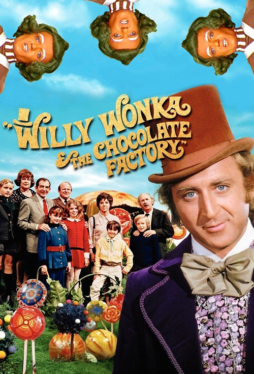 Image result for charlie and the chocolate factory movie poster