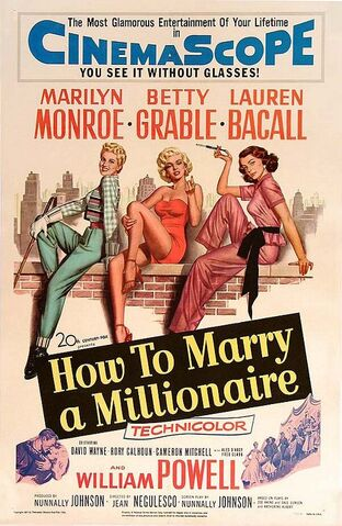 File:1953 - How to Marry a Millionare Movie Poster.jpg