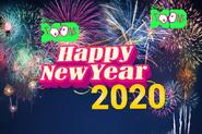 Disney XD Toons Happy New Year 2020 UK