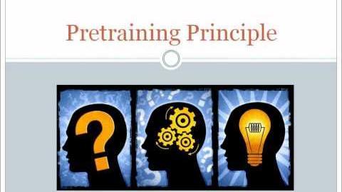 Pretraining Principle