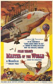 1961 - Master of the World Movie Poster