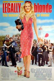 2001 - Legally Blonde Movie Poster