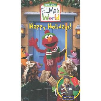Opening To Elmo S World Happy Holidays 2002 Vhs Columbia