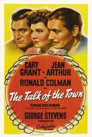 1942 - The Talk of the Town Movie Poster