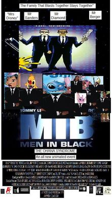 Men In Black The Ohana Syndrome (2017) Theatrical Poster