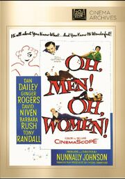 1957 - Oh, Men! Oh, Women DVD Cover (2013 Fox Cinema Archives)