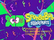 Disney XD Toons Spongebob's Big Birthday Blowout Promo