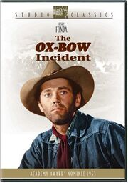 Ox Bow Incident DVD cover