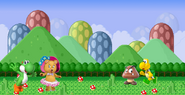 Yoshi and Tessie vs Koopatrop