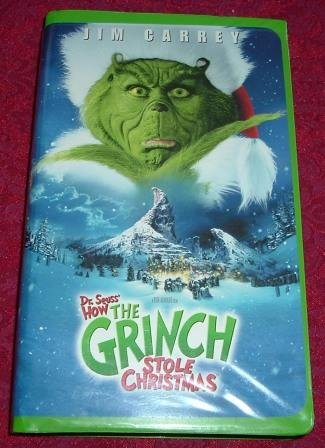 How The Grinch Stole Christmas 2000 Vhs.Opening To How The Grinch Stole Christmas Live Action 2001