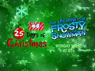 Disney XD Toons 25 Days Of Christmas The Legend Of Frosty The Snowman Promo 2018