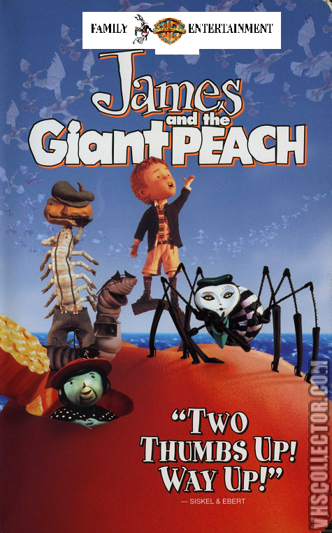 Family Entertainment Version Fake Version James And The Giant Peach Warner Bros Vhs