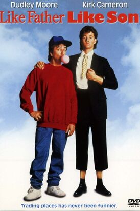 Like Father Like Son (1987) Poster