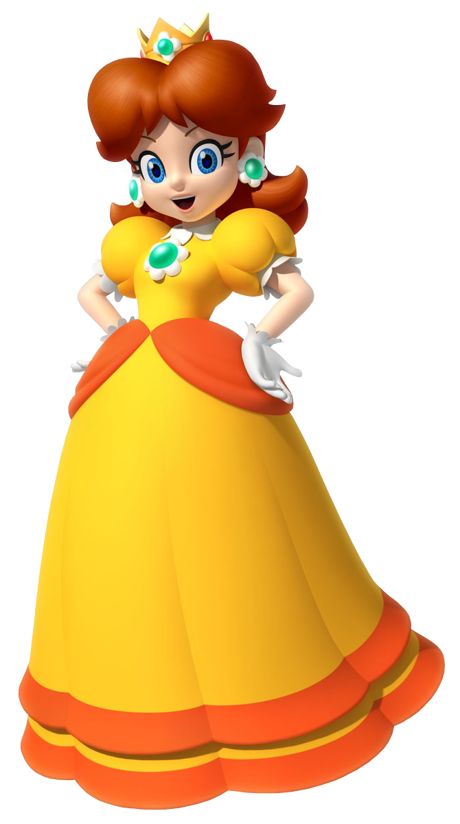Princess daisy character scratchpad fandom powered - Princesse mario bros ...