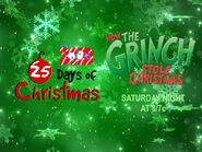 Disney XD Toons 25 Days Of Christmas How The Grinch Stole Christmas Movie Promo 2018
