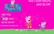 Disney XD Toons Peppa Pig Promo Poster 2014