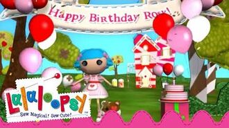 Happy Birthday, Rosy Bumps 'n' Bruises! We're Lalaloopsy Now Streaming on Netflix!