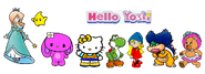 Hello yoshi 2D