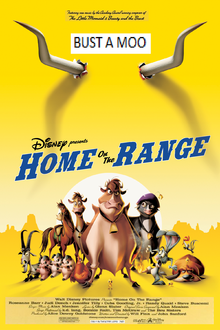 Home On The Range (2004) Poster