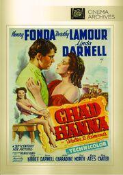 1940 - Chad Hanna DVD Cover (2014 Fox Cinema Archives)