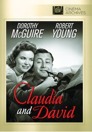 1946 - Claudia and David DVD Cover (2012 Fox Cinema Archives)