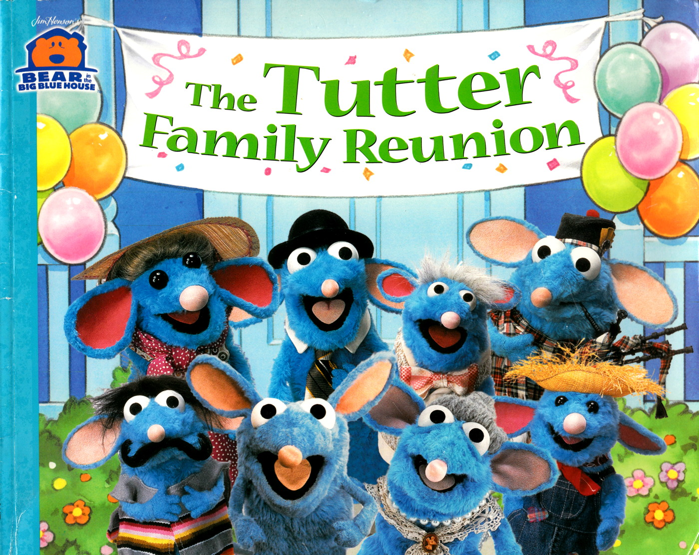 opening to bear in the big blue house: tutter's reunion 1999 vhs