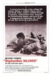 1977 - September 30, 1955 Movie Poster